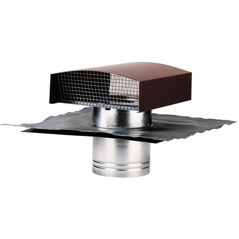 Sortie de toiture vmc 250 mm accessoire VMC couleur tuile