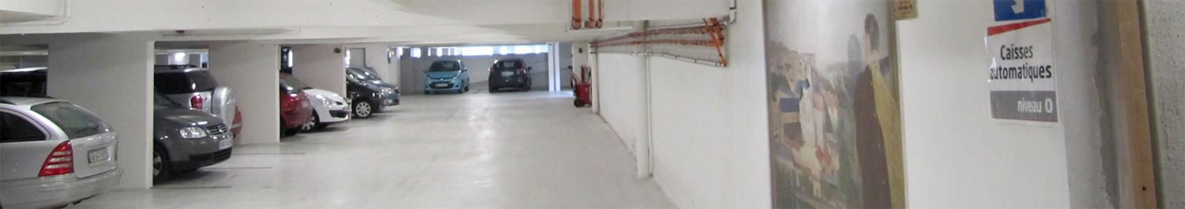Parcs de stationnement couverts