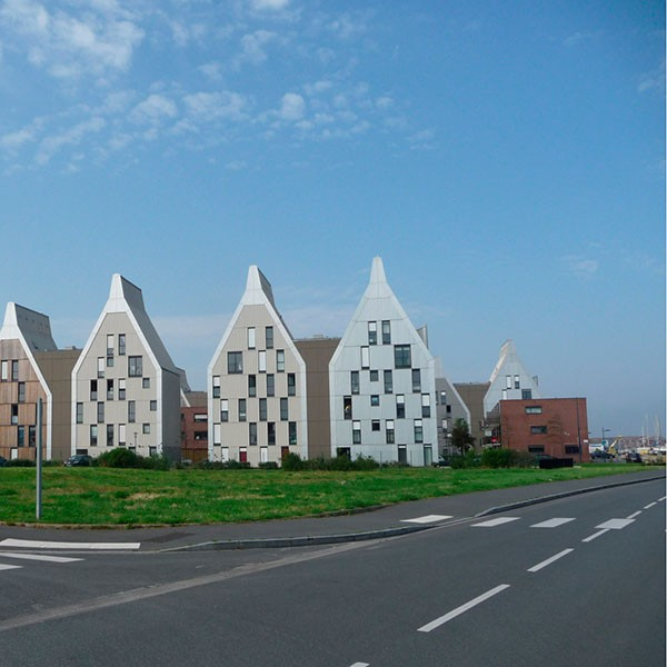QUARTIER DU GRAND LARGE (47 LOGEMENTS) - DUNKERQUE