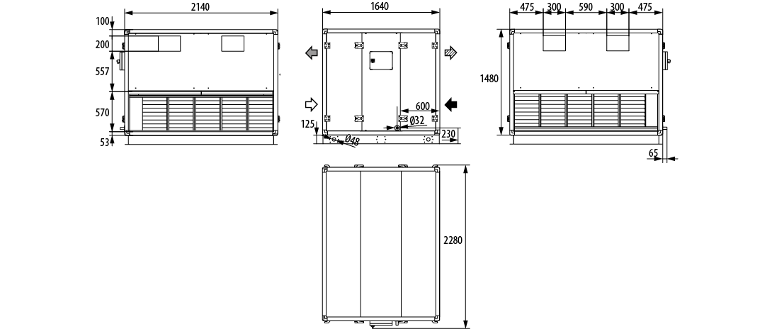 CADHR-GLOBAL-5000L-dim