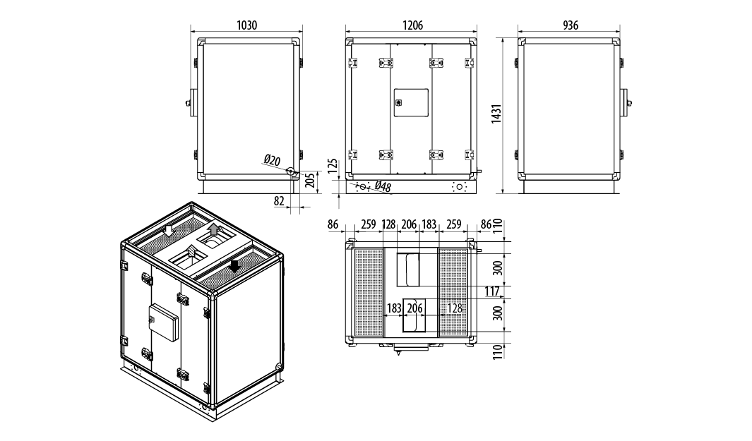CADHR-UP-1200-dim