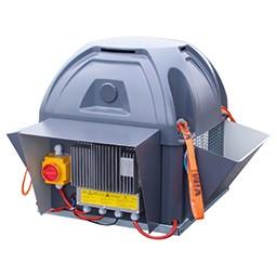 Tourelles centrifuges avec moteur EC