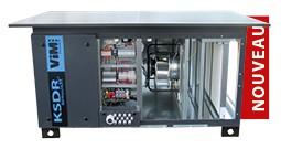 KSDR ECOWATT® - CTA SIMPLE FLUX COMPACTE 8 800 et 12 000 m3/h