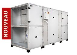CAD HR BASIC XL - CTA Double Flux contre-courant 8 000 et 13 000 m3/h