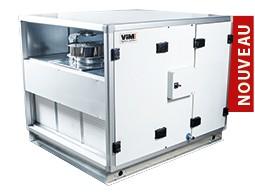 CAD HR GLOBAL ECO - CTA Double Flux Contre-Courant Compacte jusqu'à 6 000 m3/h