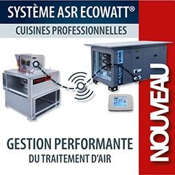 Système ASR ECOWATT pour les cuisines professionnelles