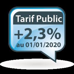 Evolution du Tarif Public