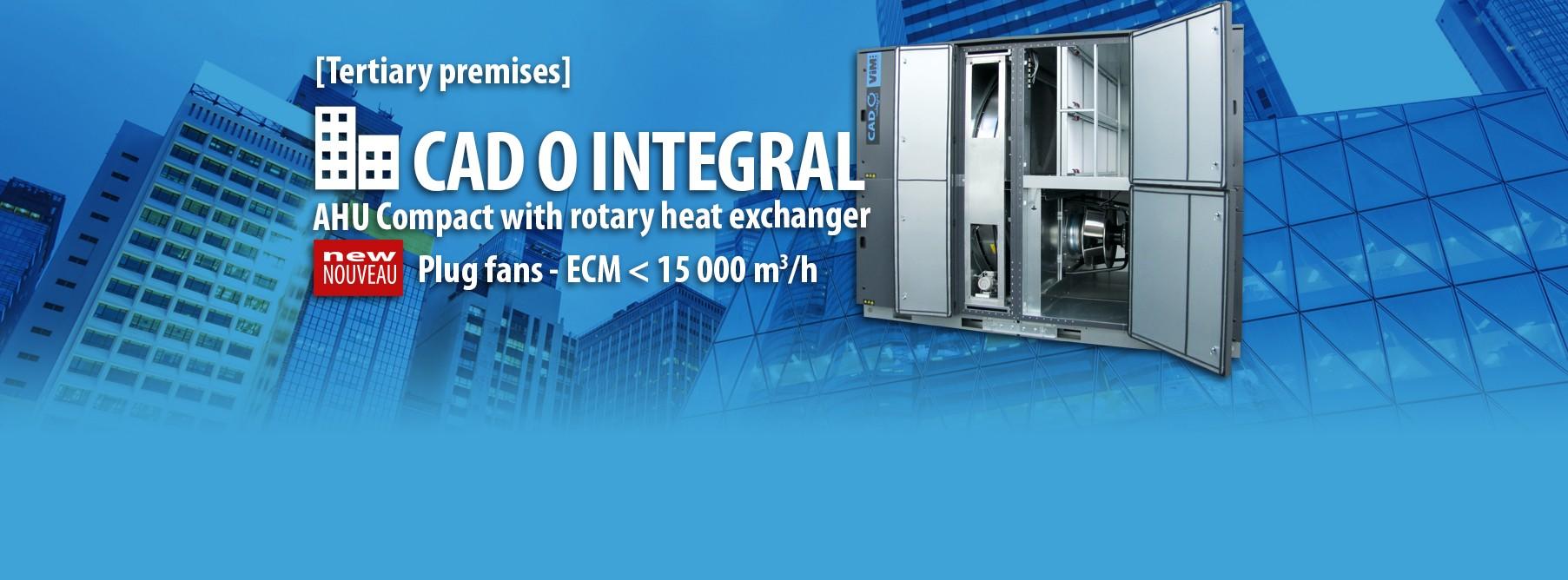 AHU rotary heat exchanger