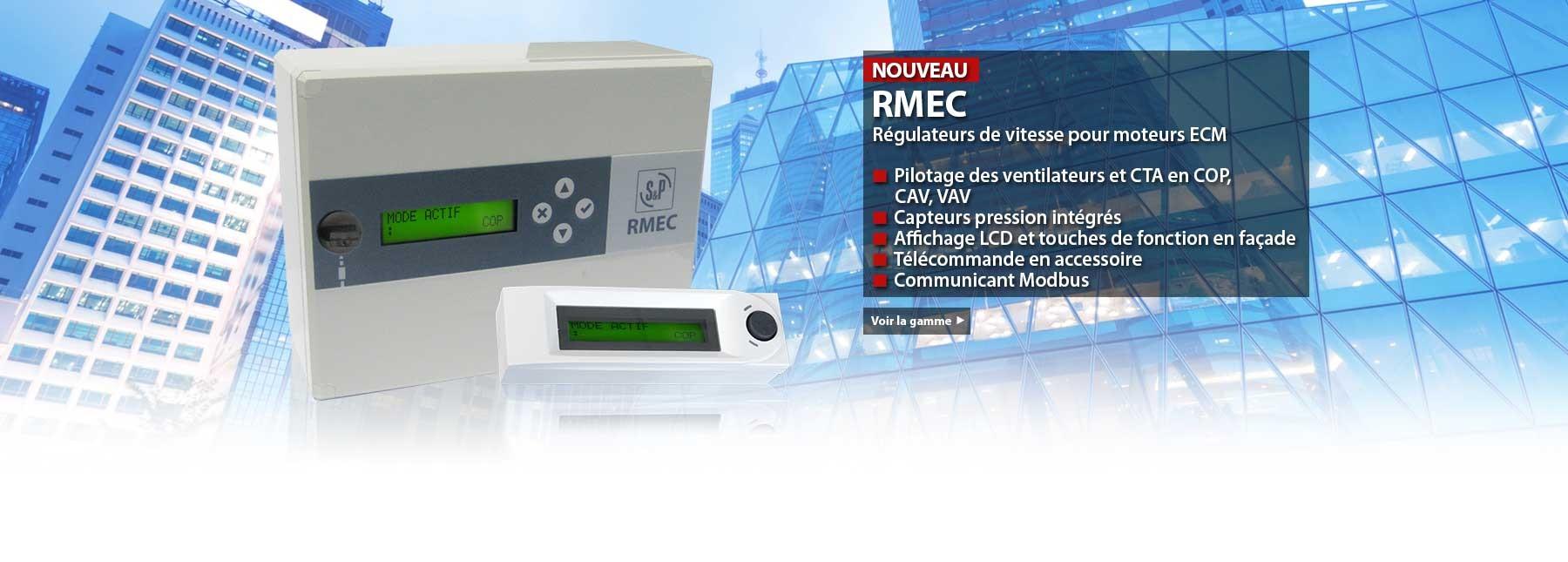 Régulateur de vitesse RMEC