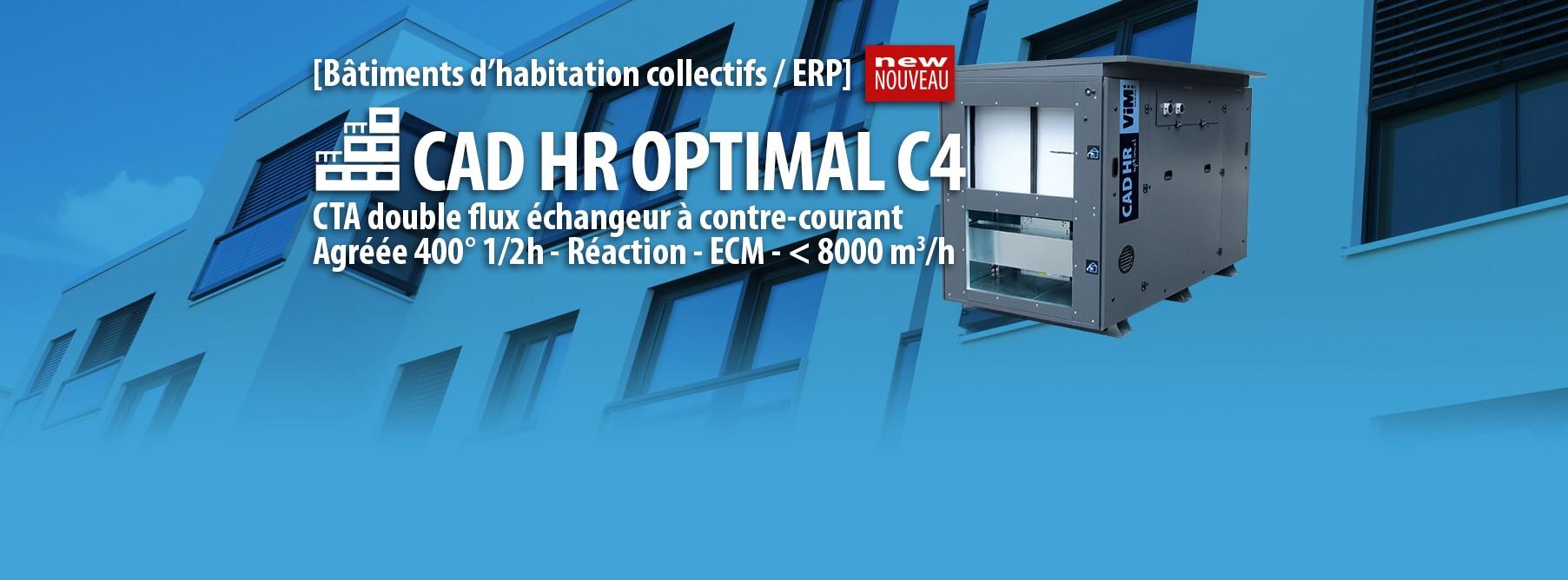 CTA double flux CAD HR OPTIMAL C4