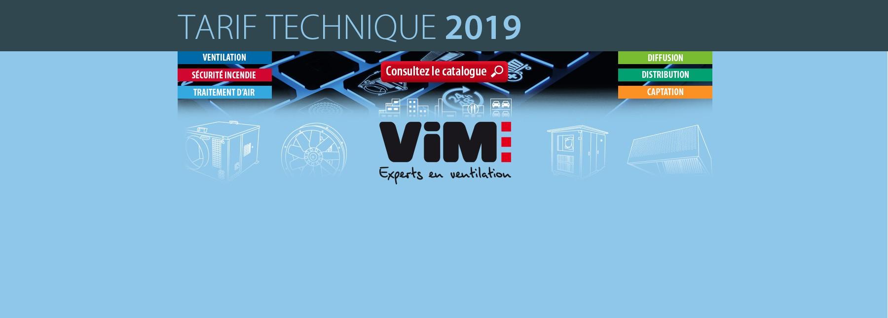 VIM - Catalogue 2019