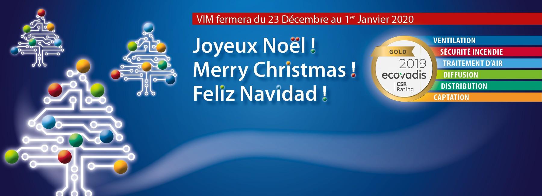 Joyeuses fêtes - Merry Christmas - Feliz Navidad