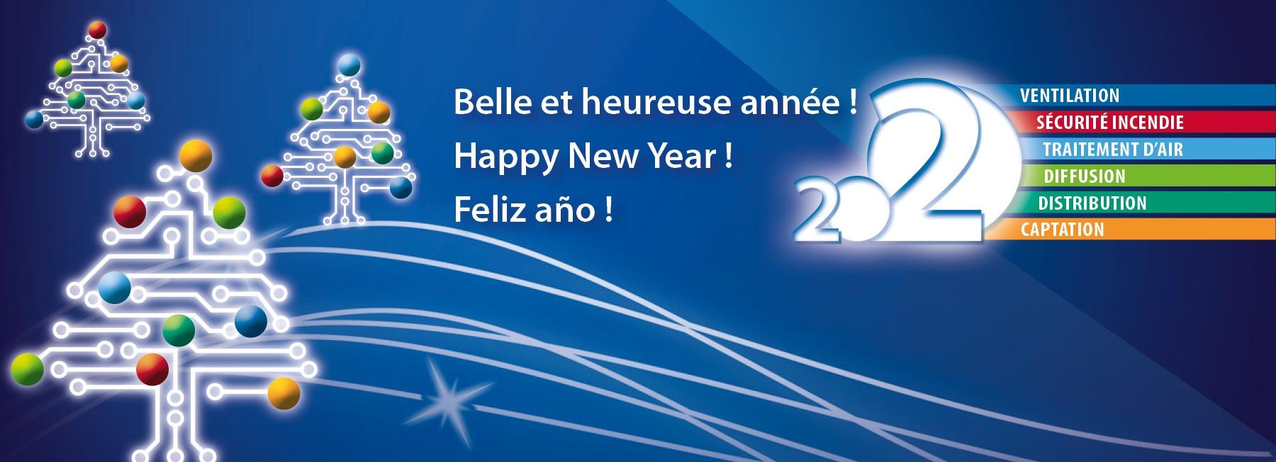 Bonne année - Happy New Year - Feliz Navidad