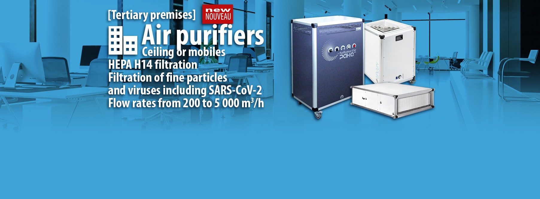 VIM air purifiers