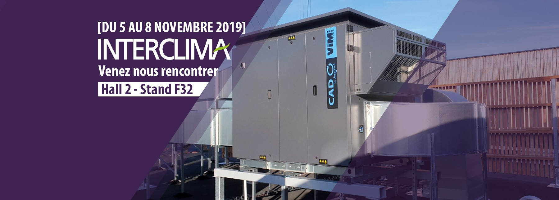 VIM expose au salon INTERCLIMA 2019