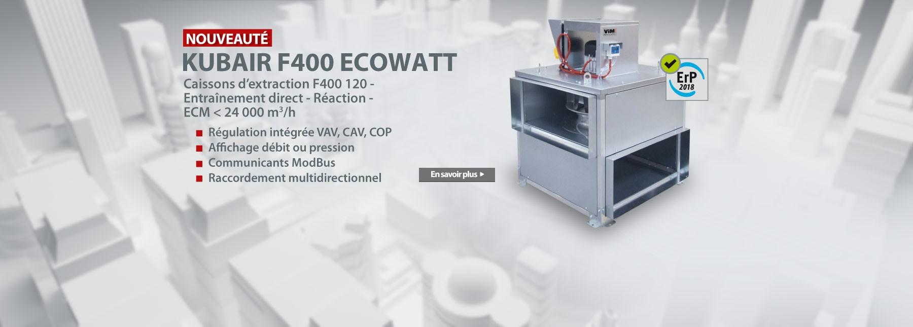 KUBAIR F400 - KUBAIR F400 ECOWATT