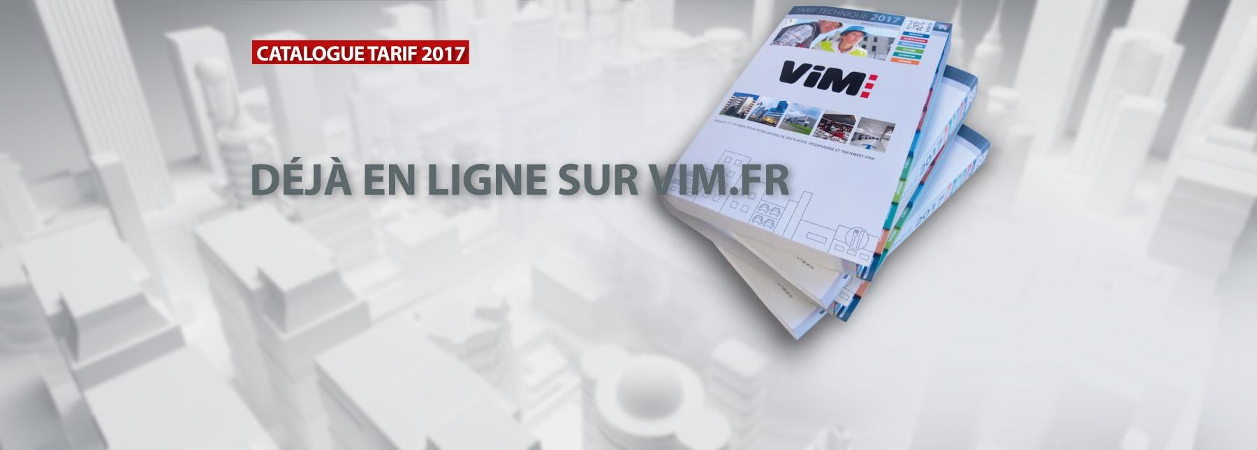 VIM - Tarif Technique 2017 en ligne