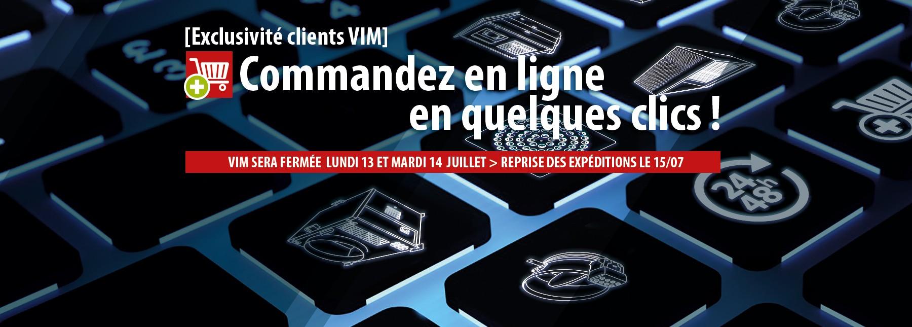 Commandes et suivi de toutes vos commandes sur vim.fr